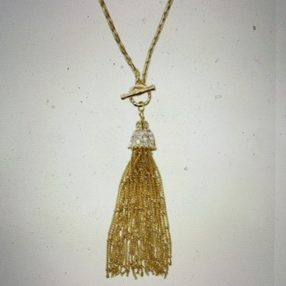 Lilly Pulitzer Jelly Tassel Necklace